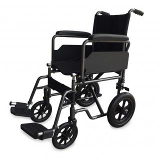 Sedia a rotelle   Pieghevole  Ruote piccole Poggiapiedi e braccoli estraibili  S230 Sevilla  TOP  Mobiclinic