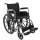 Carrozzina disabili   Pieghevole   Poggiapiedi e braccioli estraibili   Acciaio   S220 Sevilla   Mobiclinic - Foto 1