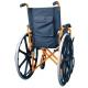 Sedia a rotelle PREMIUM | Carrozzina disabili | Braccioli e pedane sollevabili | Acciaio | Arancio | Giralda | Mobiclinic - Foto 3