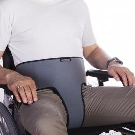 Cintura per sedia a rotelle | Di contenzione | Addominale | Perineale | Grigia