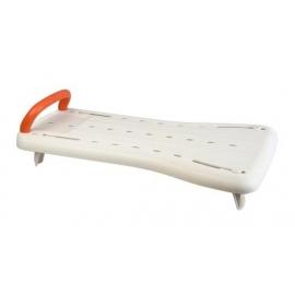 Sedile per vasca da bagno | Accessori per bagno | Plastica resistente | Bianco | Fresh