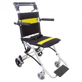 Sedia da transito   Pieghevole   Alluminio   Braccioli pieghevoli   Freno a mano   Fino a 100 kg   New Ideal