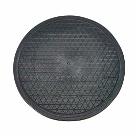 Disco girevole   Rotazione 360º   Antiscivolo   Nero   Mobiclinic