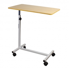 Tavolino servitore | Da letto | Regolabile in altezza | Acciaio | Legno | Meseta | Mobiclinic