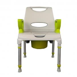 Sedia da doccia | Regolabile | Con schienale | AQ-TICA Confort