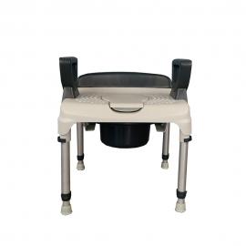 Sedia da doccia con WC | Regolabile | Senza schienale | AQ-TICA Club