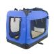 Trasportino per animali | Taglia L | Sopporta 15 kg | 67x50x49 cm | Pieghevole | Blu | Balú | Mobiclinic - Foto 1