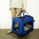 Trasportino per animali | Taglia L | Sopporta 15 kg | 67x50x49 cm | Pieghevole | Blu | Balú | Mobiclinic - Foto 7