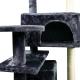 Tiragraffi per gatto | Grande | 3 altezze | 50x50x132 cm | Grigio | Tico | Mobiclinic - Foto 3