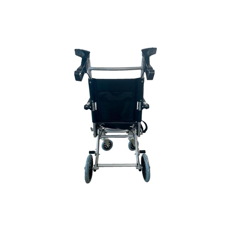 Sedia a rotelle Transit | Pieghevole | Alluminio | Ruote ...