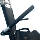 Sedia a rotelle da transito| Pieghevole | Alluminio | Ruote piccole | Freni sul manubrio | Nero | Jupiter | Clinicalfy - Foto 7