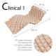 Materasso antidecubito ad aria   Con compressore   200x90x7   130 celle   Beige   Clinical 1   Clinicalfy - Foto 4