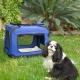 Trasportino per animali | Taglia M | Sopporta 10 kg | 57x38x44 cm 1 Pieghevole | Blu | Balú | Mobiclinic - Foto 9