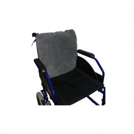 Protettore/schienale per sedia a rotelle | Colore: grigio | 42x42cm | Suapel