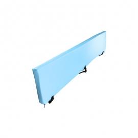 Pellicola di corrimano barandex M-2 | 140 x 35 cm | con chiusura a clip | materiale imbottito, impermeabile e anallergico