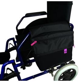 Borsa per sedia a rotelle   Poliestere   Rifinitura in PVC