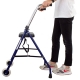 Deambulatore per anziani   Pieghevole   Sedile   2 ruote   Blu   Merida   Clinicalfy - Foto 9