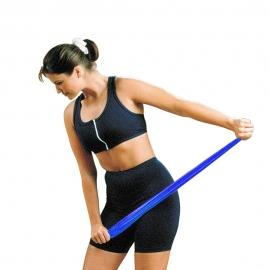 Fasce elastiche per riabilitazione   Fasce elastiche per esercizi   5 livelli di resistenza associati ai colori