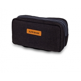 Astuccio termico per insulina | Per kit glicemia | Nero | Diabetic's | Elite Bags
