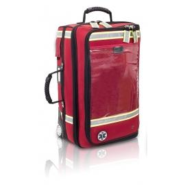Trolley primo soccorso | Borsa medica sportiva | Zaino emergenza | Rosso | EMERAIR'S | Elite Bags