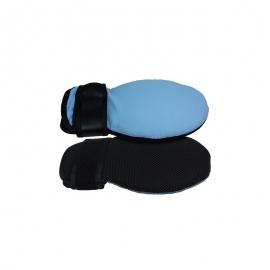 Coppia di guanti in memory foam   Traspirante   27x12-17 cm