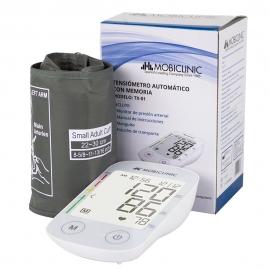 Tensiometro | Misuratore di pressione | Sfigmomanometro digitale | Bianco | TX-01| Mobiclinic