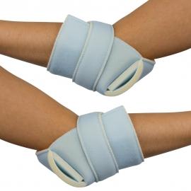 Confezione di protezioni antidecubito per gomito o tallone | Destra e sinistra | Cotone | Taglia unica 1 Mobiclinic
