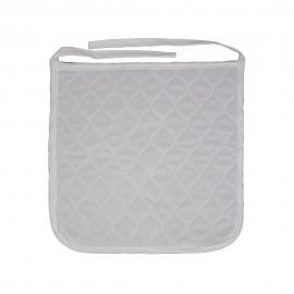 Imbottitura riutilizzabile per sedie a rotelle   40 x 38 cm   450 lavaggi   Mobiclinic