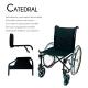 Sedia a rotelle   Pieghevole   Acciaio  Ruote grandi   Nero   Catedral   Ortopedica   Mobiclinic - Foto 3