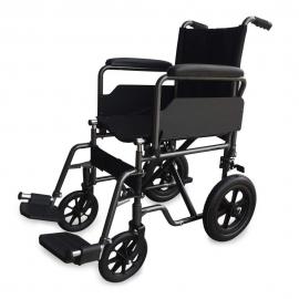 Opvouwbare rolstoel   Staal   Verwijderbare voet- en armsteunen   Zitje 40 cm   Model: S230 Sevilla   Mobiclinic