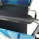 Cadeira de rodas dobrável | ortopédica | Leve | Preto | Alcazar | Mobiclinic - Foto 6