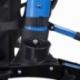 Andarilho de 4 rodas com travões   Dobrável e ajustável   Assento e encosto   Celeste   Trajano   Mobiclinic - Foto 19