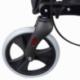 Andarilho de 4 rodas com travões   Dobrável e ajustável   Assento e encosto   Celeste   Trajano   Mobiclinic - Foto 21