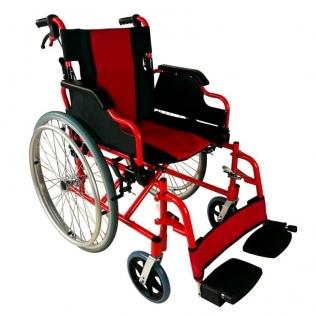 Cadeira de rodas leve | Travões nos punhos e rodas | dobrável | alumínio | Torre | Mobiclinic