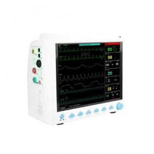 Monitor de paciente compacto e portátil | Ecrã de alta resolução | MB8000 | Mobiclinic