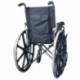 Cadeira de rodas dobrável | Ortopédica | Apoio de braços dobráveis | Preta | Giralda | Mobiclinic - Foto 9