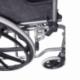 Cadeira de rodas dobrável | Ortopédica | Apoio de braços dobráveis | Preta | Giralda | Mobiclinic - Foto 12
