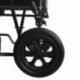 Cadeira de rodas de aço | Dobrável | Com apoio para os pés e apoios para os braços removíveis | S230 Sevilla | Mobiclinic - Foto 6