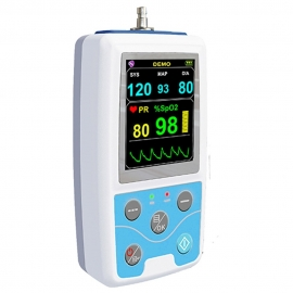 Monitor de sinais vitais   Modelo PM50   NIBP e SpO2   Mobiclinic