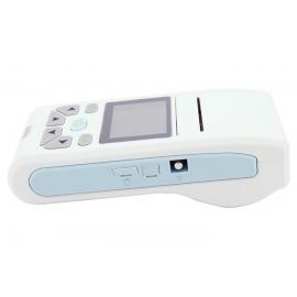 Eletrocardiógrafo portátil de 3 canais   Com ecrã e impressora térmica   ECG   ECG90A   Mobiclinic