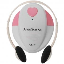 Detetor fetal   Capacidade sonora   Cor rosa   AngelSounds   Mobiclinic