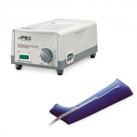 Equipamento de terapia de pressão de perna, Antecedência da drenagem linfática 1000 da APEX.