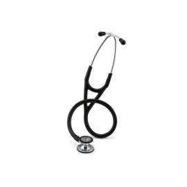 Fonendoscópio de diagnóstico | Preto | Acabamento espelhado | Cardiology IV | Littmann