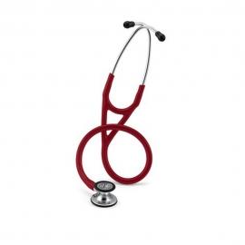 Fonendoscópio de diagnóstico | Bordô | Acabamento espelhado | Cardiology IV | Littmann