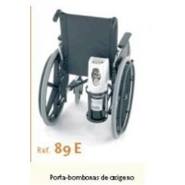 Suporte para garrafa de oxigênio para cadeiras de rodas