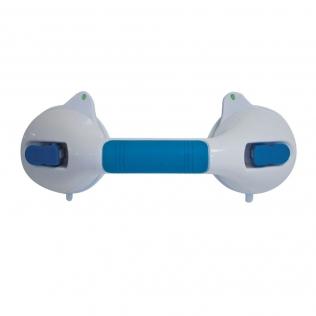 Lidar com barra de ventosas para banheiro 29 cm com indicador de segurança