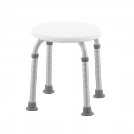 Cadeira de banho | Altura ajustável | Pés antiderrapantes| Faro | Mobiclinic